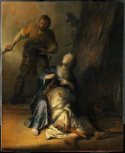 Simson en Delila (Richteren 16:19)