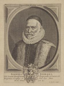 Portret van Joannes Rommel (1542-1632)