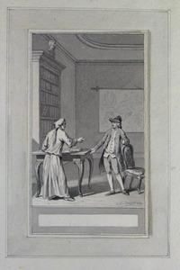 Illustratie bij 'Emil' uit de Fabelen en vertelsels van F.C. Gellert