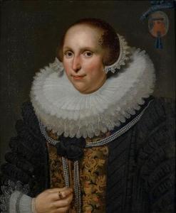 Portret van Sophia van Walenburch (?-1636)