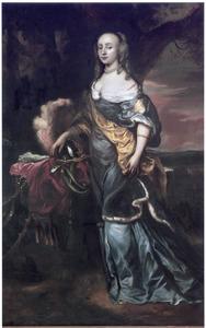 Portret van Margaretha Vlooswijck (1647-?)