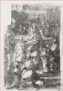 De opdracht van Christus in de tempel