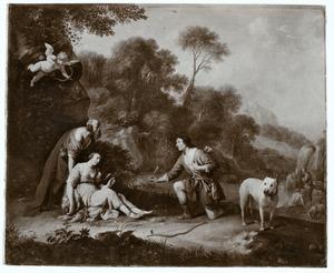 Silvio en de verwonde Dorinda (Guarini, Il Pastor Fido, IV, 8)