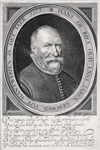 Portret van Hans de Ries (1553-1638)