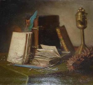 Boekenstilleven