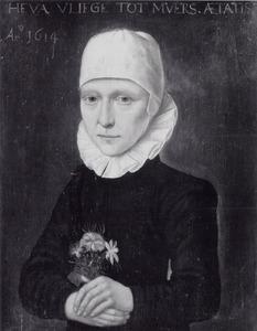 Portret van Eva Vliegen (1575-1637)