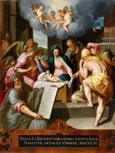 De geboorte van Christus (Lucas 2: 1-21)