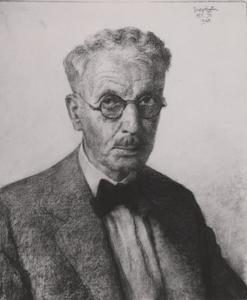 Portret van Wilhelm Christiaan Georg Rueter (1875-1966)