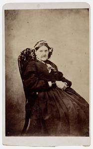 Portret van Magdalena Sara Leonore de Vriese (1783-1864)