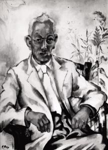 Portret van Simon Pierre Abas (1891-1944)