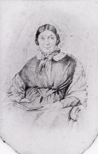 Portret van Wilhelmina Antonia Paravicini di Capelli (1780-1857)
