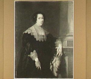Portret van een vrouw op 22-jarige leeftijd, mogelijk lady Philadelphia Wharton