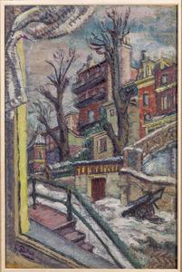 M.J. Kosterstraat, winter 1942