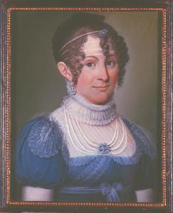 Portret van Aleida Catharina Francisca Hoevel (1791-1848)