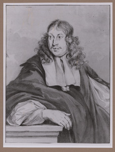 Portret van Jacob Willemsz. Delff II (1619-1661)