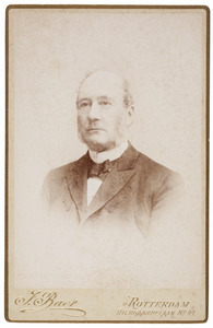 Portret van Abraham van Stolk (1818-1899)