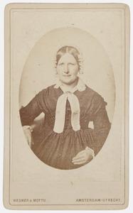 Portret van Anna Elisabeth Deuffer Wiel (1807-1873)