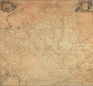 Nieuwe Lantkaarte van het Noorder en Oosterdeel van Asia en Europa Strekkende van Nova Zembla tot China (...)