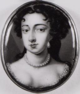 Portret van Mary II Stuart (1662-1695)