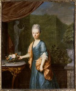Portret van Constantia Elisabeth Reitsma (1738-1786)