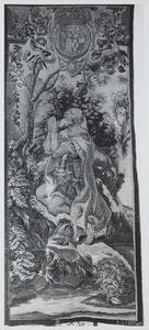 Karel de Grote in gebed
