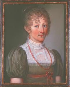 Portret van Joanna Reiniera Maria van der Heyden (1795-1848)