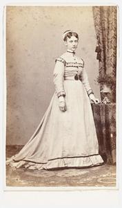 Portret van Clasina Theresia de Bie Luden (1845-1879)