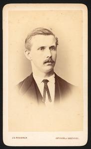 Portret van Egbert Andries Buyskes (1849-1888)