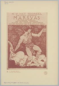 Affiche 'Marsyas' (variant I)