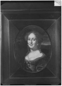 Portret van Agatha Bartha van Heemskerck (1656-1692)