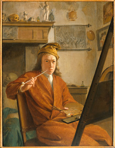 Portret van een schilder, mogelijk een zelfportret