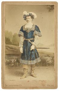 Portret van H. Visser(?) als Guillaume de Vergy baron d'Autry