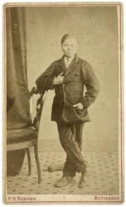 Portret van Jan Barend de Willigen (1853-1918)