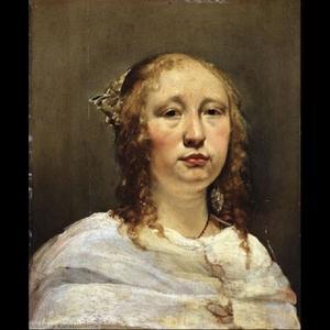 Portret van een vrouwuit de familie Bor