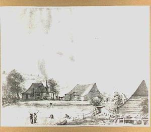 Blekerij 'De Blijk' aan de Molenbeek te Arnhem