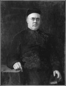 Portret van pastoor  Antonius Gerardus Schweitzer (1833-1905)