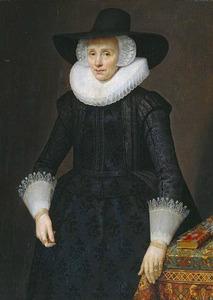 Portret van Margarita Courten (1564-1640)