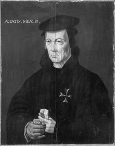 Portret van waarschijnlijk Berend van Duven (1470-1551)