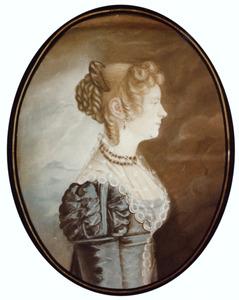 Portret van Anna Ris (1774-1850)
