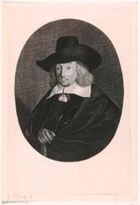 Portret van Matthias van Gherwen (?-1707)