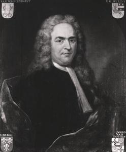 Portret van een persoon genaamd Alexander Carel Philip van Wachendorff (1665-1757)