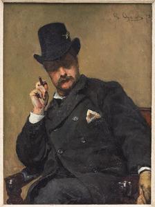 Portret van David Oyens (1842-1902)