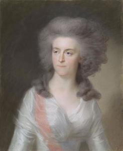 Portret van Wilhelmina van Pruisen (1751-1820)