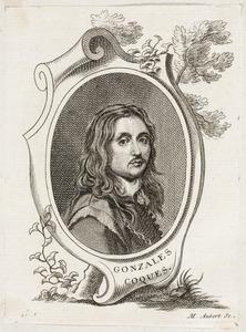 Portret van Gonzales Coques (1614-1684)