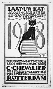 Advertentie voor Co Chevalliers ontwerp- en drukwerk