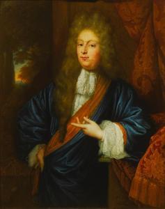 Portret van Pieter Dierquens (1668-1714)