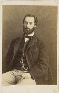 Portret van Nicolaas Adriaan Steengracht van Moyland (1834-1906)