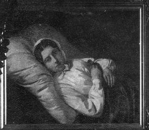 Hanna da Costa op haar ziekbed