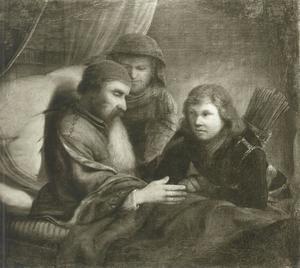 Isaak zegent Jakob