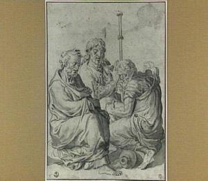 Heilige Petrus en de apostelen Johannes en Jacobus